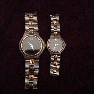 Movado his and hers watches